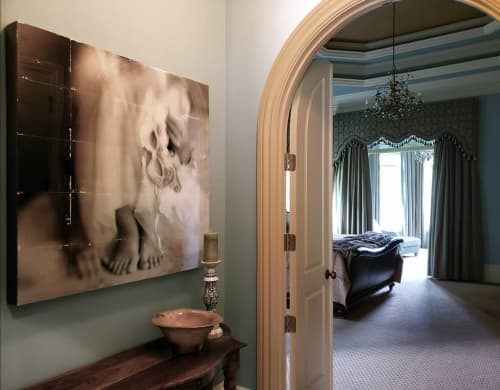 Photography by Pam Moxley Mixed Media seen at Private Residence, Atlanta - Masked 3