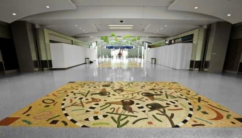 Public Mosaics by Suzanne Adan seen at Sacramento International Airport, CA, Sacramento - Flying Colors
