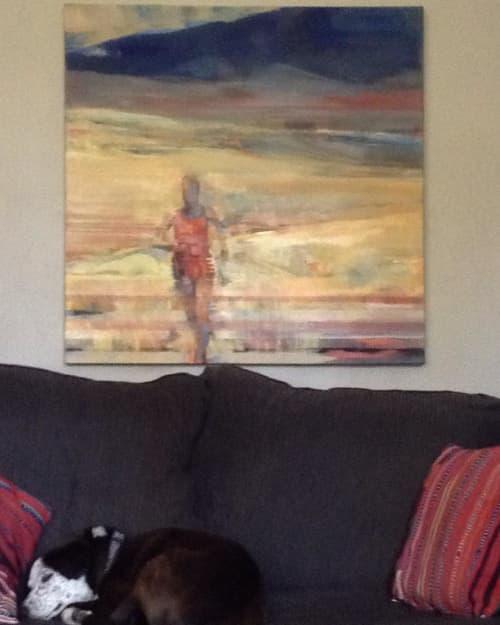 Paintings by Sandra Speidel seen at Private Residence, Petaluma - Solitude