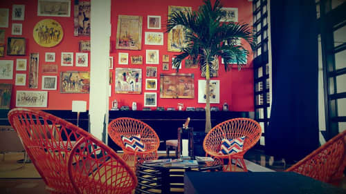 Chairs by David Francis Furniture seen at Albion Hotel South Beach, Miami Beach - Marrakesh Rattan Chairs