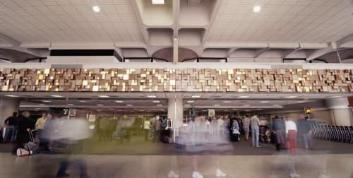 Signalscape | Sculptures by Miki Iwasaki | San Diego International Airport in San Diego