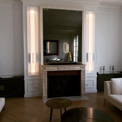 Mire M | Lighting by CINIER | Paris Apartment in Paris