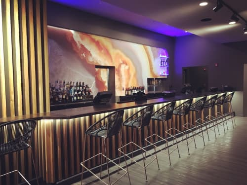 Puerto Stool - Bar Height | Chairs by Innit Designs | KOMODO (Modern Asian Cuisine) in Rogers