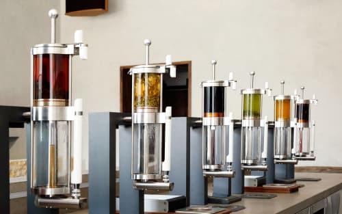 Tableware by Alpha Dominche seen at Samovar Tea Bar, San Francisco - Tea Brewing Crucibles