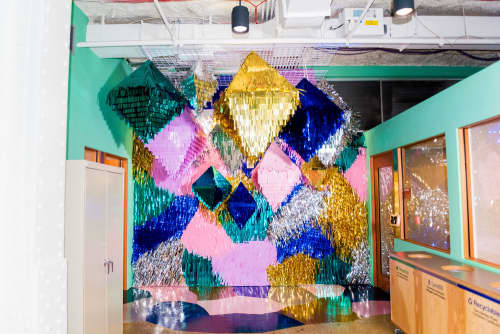 Diamond Confetti | Art & Wall Decor by Confetti System | Facebook, New York, Astor Place in New York