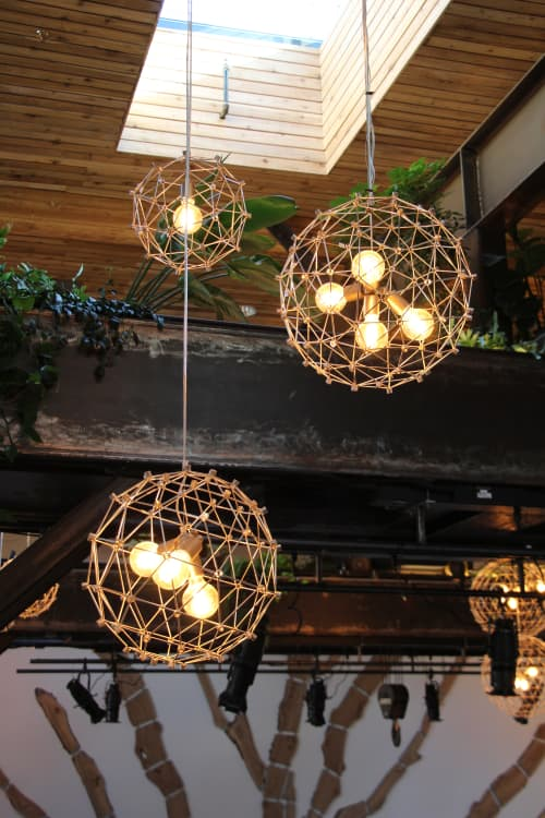 Ball LIghts   Lighting by Alexis Laurent   The Pearl in San Francisco