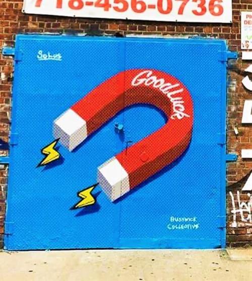 Magnet Mural | Street Murals by Solus | Brooklyn Brush Studios in Brooklyn