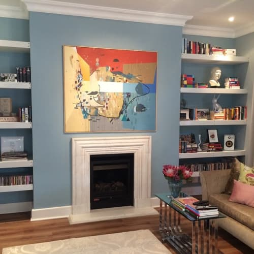 Paintings by Paul Senyol seen at Private Residence, Cape Town - Painting