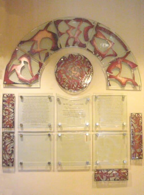 Gratitude Wall | Art & Wall Decor by Reddy Made Designs | Congregation Emanu-El San Francisco in San Francisco