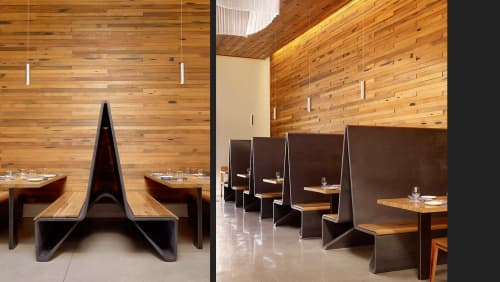 Concrete Booths | Furniture by Concreteworks | Bar Agricole in San Francisco
