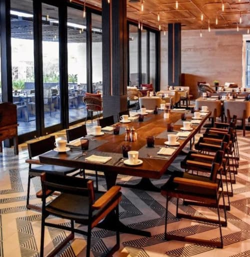 Chairs by Token at Montage Los Cabos, Cabo San Lucas - Catenary Armchair