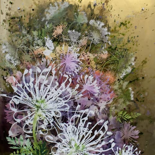 Dill Flowers | Paintings by Cara Enteles Studio