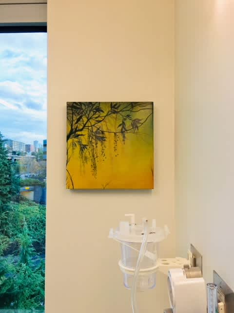 Paintings by Ivy Jacobsen seen at Seattle Cancer Care Alliance, Seattle - Recent Paintings
