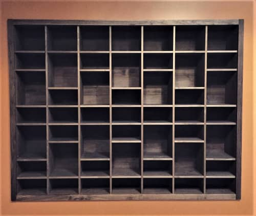 Storage Shelves   Furniture by Alexis Moran   Namaste Yoga + Wellness Rockridge in Oakland