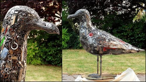 Seagull | Sculptures by Brian Mock | Hotel Zephyr in San Francisco