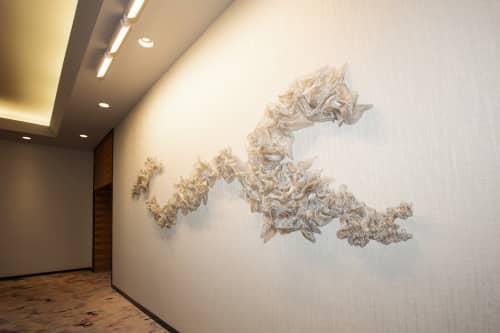 Sculpted Metal Mesh | Sculptures by Abby Goodman | Loews Minneapolis Hotel in Minneapolis