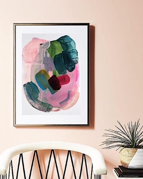 Portrait Pink | Paintings by maja dlugolecki