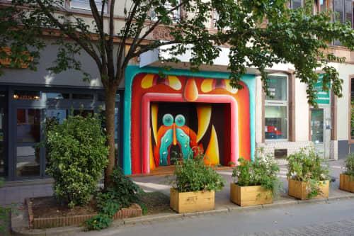 Street Murals by Nicolas Barrome seen at Graffalgar, Strasbourg - Coney Alsace for the Colors Urban Art