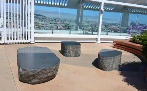 Sculptures by Masayuki Nagase at Zuckerberg San Francisco General Hospital and Trauma Center, San Francisco - Breath Between Sky and Ocean