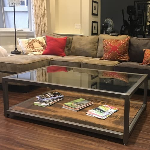 Tables by Caveman Build & Supply Co. at Town of Oakville, Oakville - Custom Coffee Table