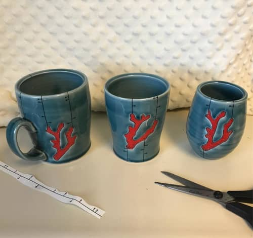 Cups by MeghCallie Ceramics - Ceramic cup