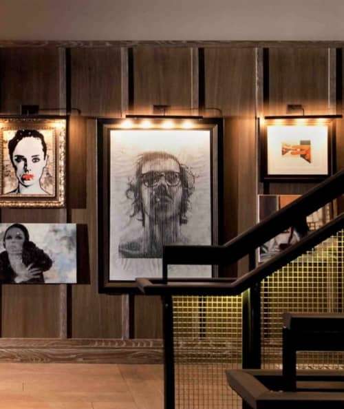 Art & Wall Decor by Craig Tinsky seen at Thompson Chicago, Chicago - The Autobiography of Chuck Close