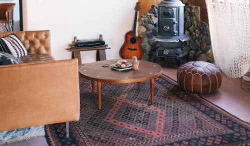 Tables by American of Martinsville seen at The Joshua Tree Casita, Joshua Tree - Mid Century Modern Coffee Table