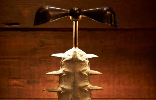 Saw Tooth Lamp | Lighting by Julian Schnabel | Gramercy Park Hotel in New York