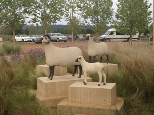 Mouton Transhumant | Sculptures by François-Xavier Lalanne | HALL Wines in Saint Helena