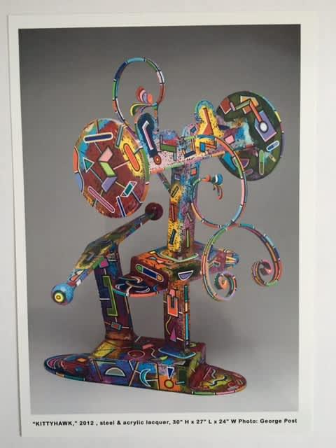KittyHawk | Sculptures by Joseph Slusky | College of Environmental Design in Berkeley