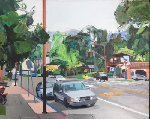 Painting | Paintings by Betsy Kendall | North Branch Library in North Branch