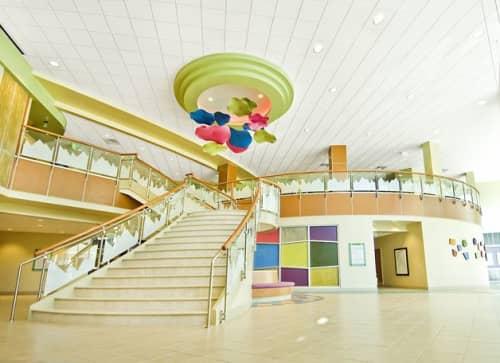 Art Curation by NINE dot ARTS at Rocky Mountain Hospital for Children, Denver - Art Curation