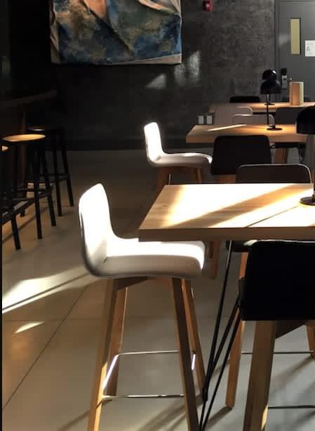Maverick Bar Stool | Chairs by Birgit Hoffmann | Arlo SoHo in New York