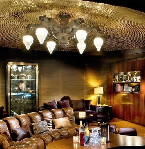 Gargoyles Chandelier | Chandeliers by Jim Gibson | Hyde Lounge in Los Angeles
