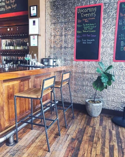 Rolf Barstools | Chairs by Holler Design | Old City Wine Bar in Knoxville