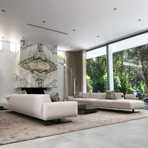 Rugs by Mehraban seen at Private Residence, Beverly Hills - Nepalese Silk Rug