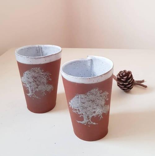Handless Mug   Cups by ShellyClayspot