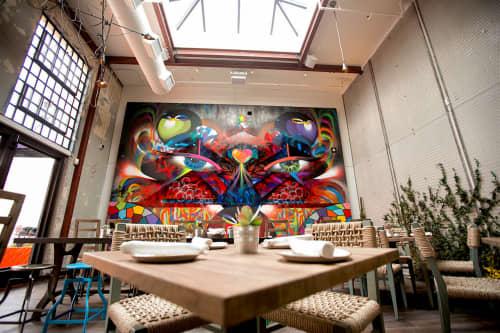 Eyes of San Diego | Murals by Chor Boogie | Puesto Mexican Street Food & Bar in San Diego