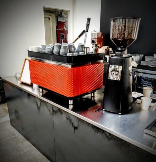 Tableware by Rancilio at Vive La Tarte, San Francisco - Rancilio z8 Elematic Espresso Machine