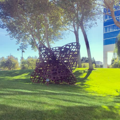 Phases, 2000 | Sculptures by Linda Fleming | Health Plan of San Mateo in South San Francisco