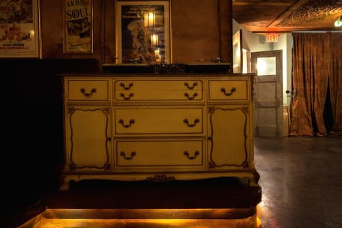 Vintage Dresser DJ Booth   Furniture by M. Winter Design   Adults Only in Los Angeles