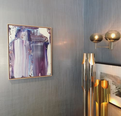 Paintings by Justin Terry at Donghia, Inc., New York - Iris