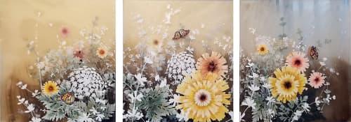 Field Monarchs | Paintings by Cara Enteles Studio