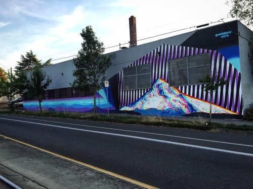 Murals by Adam Friedman seen at The Make House, Portland - Make House Mural