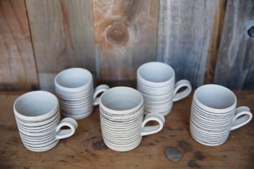 Tableware by Mel Rice Ceramica seen at Microshop, San Francisco - Handled Black Lined Mug