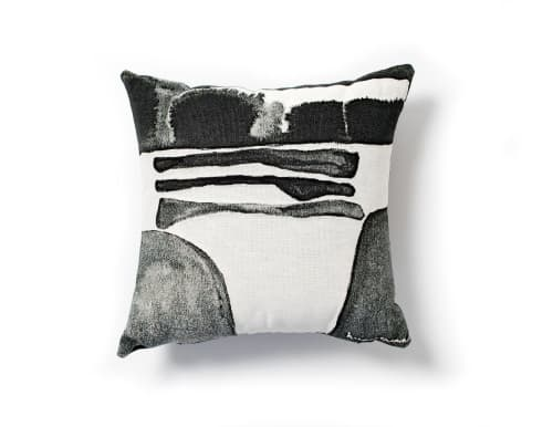 "Pillows by K'era Morgan seen at Creator's Studio, Los Angeles - ""Big Rock"" Throw Pillow Cover"