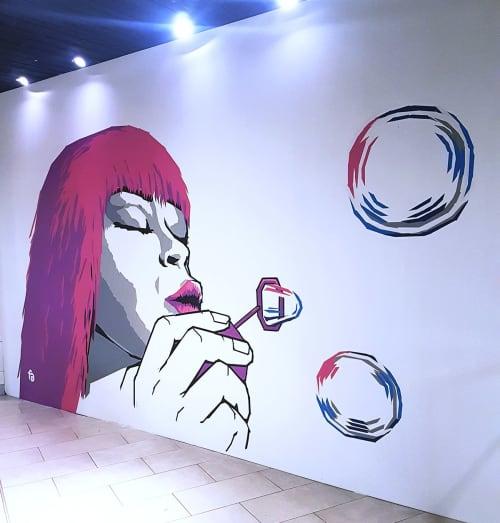 Tape Art   Murals by Fabifa   Boulevard in Berlin