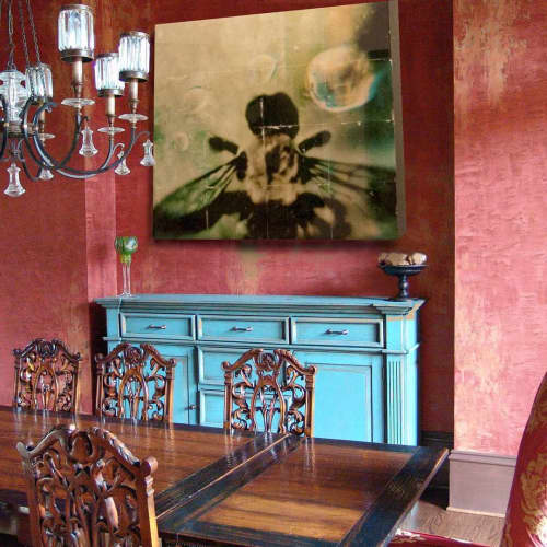 Photography by Pam Moxley Mixed Media seen at Private Residence, Atlanta - Bee