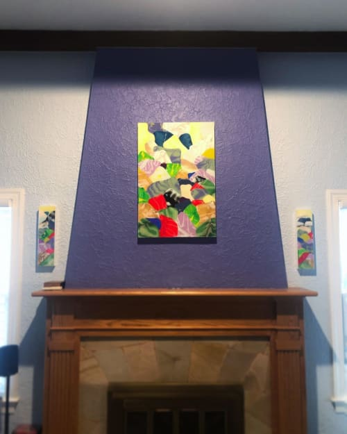 Paintings by Ari Robinson seen at Private Residence, Saint Petersburg - Contemporary Painting