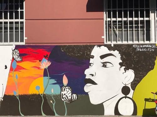 Street Mural   Street Murals by WHOSVLAD